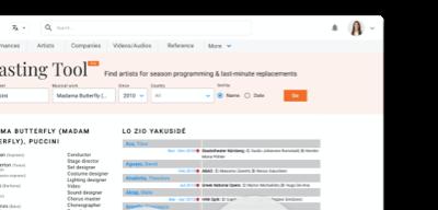 Operabase Casting tool pro